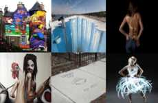 57 Crazy Graffiti Displays - From to 3-D Paper Graffiti to LAP Photography
