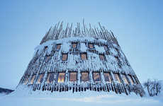 Teepee Towers - The Swedish Ski Resort is a Little Boy's Fantasy Playground