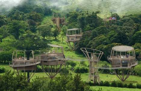 Ewok Tree Houses