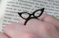 Bespectacled Rings - The Isette Spectacles Ring Channels Your Inner Librarian