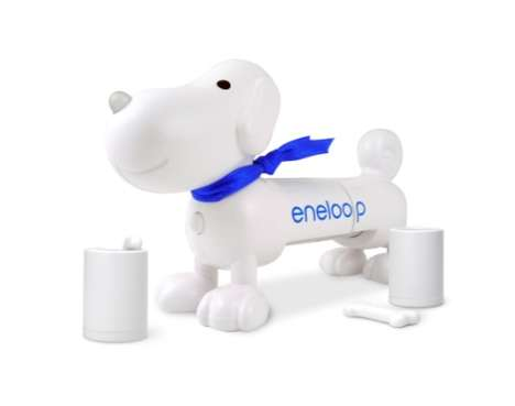 Sanyo's Eneloop Rechargeable Batteries and Adorable Charger