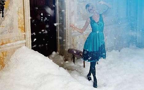 Snow-Filled Lookbooks
