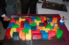 Retro Game Cakes - The Tetris Wedding Cake is for Hardcore Gamers