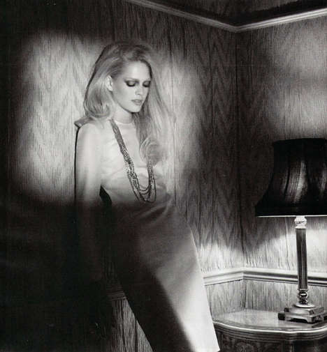 Model Michaela Hlavackova 'In the Bedroom' for Harper's Bazaar UK