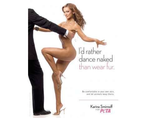27 PETA Nude Campaigns