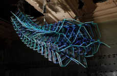 Alien Light Shows - The Crystal Monster LED Light Installation is Creepy Crawly