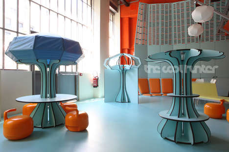 Designer Playschools - The Matali Crasset Maison Des Petits Inspires Young Artists