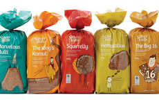 Color Burst Bread - The Silver Hills Redesigned Bread Packaging is Super Cute