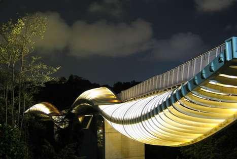 Glowing Squiggle Bridges