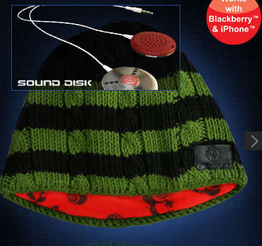 Musical Skull Caps - The Aerial7 Sound Disk Beanie Has a Built-In Sound System