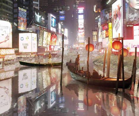 Urban Floodtography
