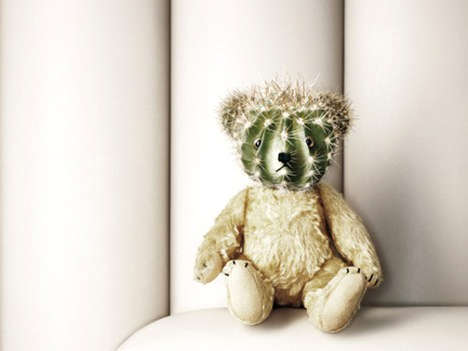 Prickly Plushies - The Cactus Teddy Bear Might Be the Worst Toy Ever