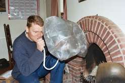 Inflatable Chimney Pillows