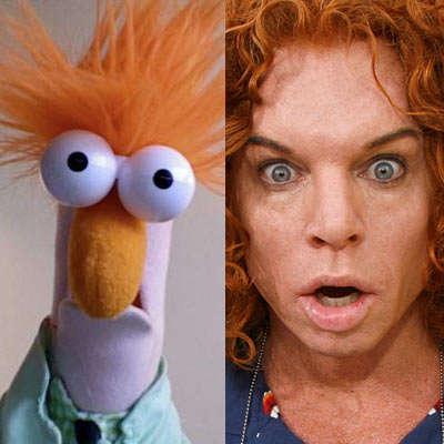 Celebrity Muppetism