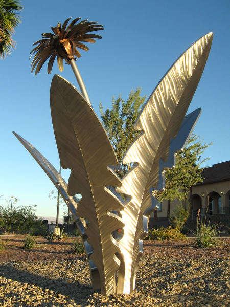 Growing Metal Sculptures