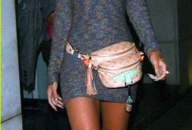 Fanny Pack Revivals - This Rihanna Louis Vuitton Hip Pouch Proves Tourist Fashion is Haute