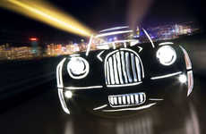 Light Graffiti Cars - Mark Brown and Marc Cameron's Photography Lights Up the Night