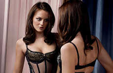 Gossip Girl Lingerie Spreads - Leighton Meester for GQ Has Nothing to Hide