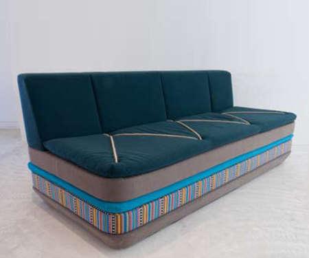 Nomadic Stacked Sofas