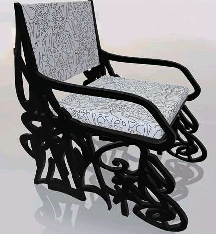 Graffiti Furniture - Luis Alicandu Creates Street Art to Furnish Your Home With