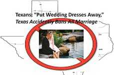 Legal Writing Fails - Texas Makes Massive Error That Accidentally Bans All Marriage
