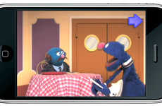 Kids Icon Apps - The Grover's Number Special App from Sesame Workshop and Ideo