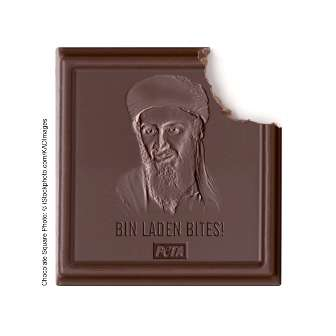 Terrorist-Biting Chocolates