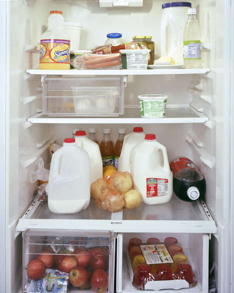 Fridgetography - Mark Menjivar Uses Photos of Refrigerators as Insightful Cultural Study