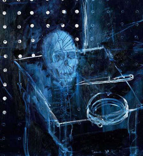 Morbid Chalk Drawings