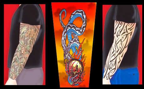 Tattoos For Wimps - Slip On Tattoo Sleeves