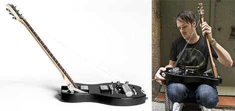 The Foldable Electric Guitar