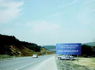Fake Cop Billboards- IsBank Ad Attracts Attention and Slows you Down
