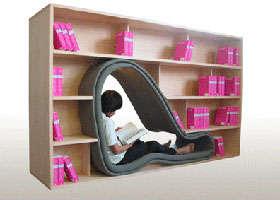 Bookcase Cave
