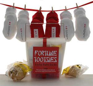 Fortune-Telling Baby Socks