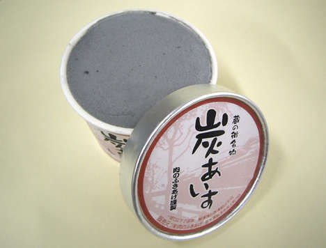 Unusual Icecream Flavours - Squid Gut & Charcoal