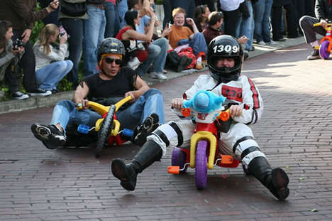Bring Your Own Big Wheel Racing