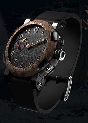 Upcycled Shipwreck Watches - Romain Jerome Creates Watches From Pieces of the Titanic