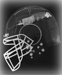 Wireless Football Helmets - Monitor Head Injuries