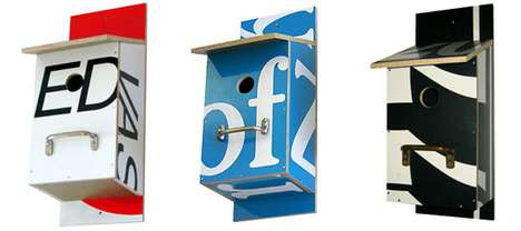Billbirdhouse - Billboards Recycled into Birdhouses