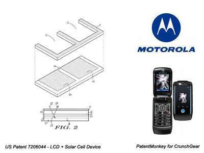 Solar Powered Cell Phones - Eco Moto?
