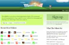 Social Mood Management Website - MoodMill