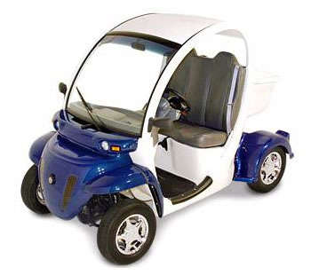 Electric Mini Car for French Mailmen