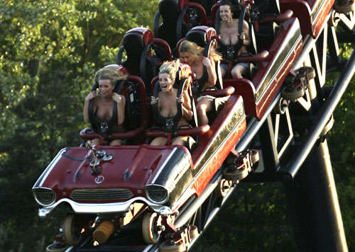 Topless Roller Coasters