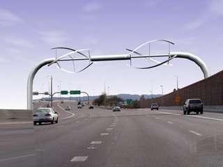 Billboard Wind Turbines