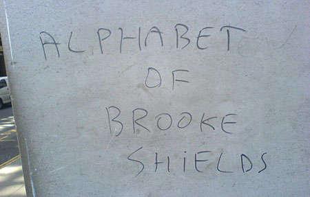 Alphabet of Brooke Shields