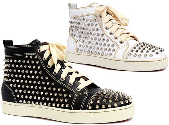 new style b4468 ecef2 Studded Designer Sneakers: Men's Spring/Summer 2010 ...