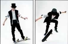 Suit-Wearing Skaters