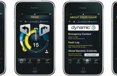 Smooth Riding Innovations - The Integrated Wheelchair iPhone App from Dynamic Controls