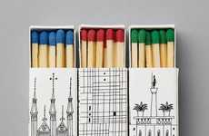 Matchbook Cities - Illustrated Architectural Landmark Matchboxes
