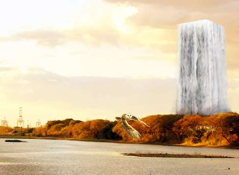 High-Rise Waterfall Zoos